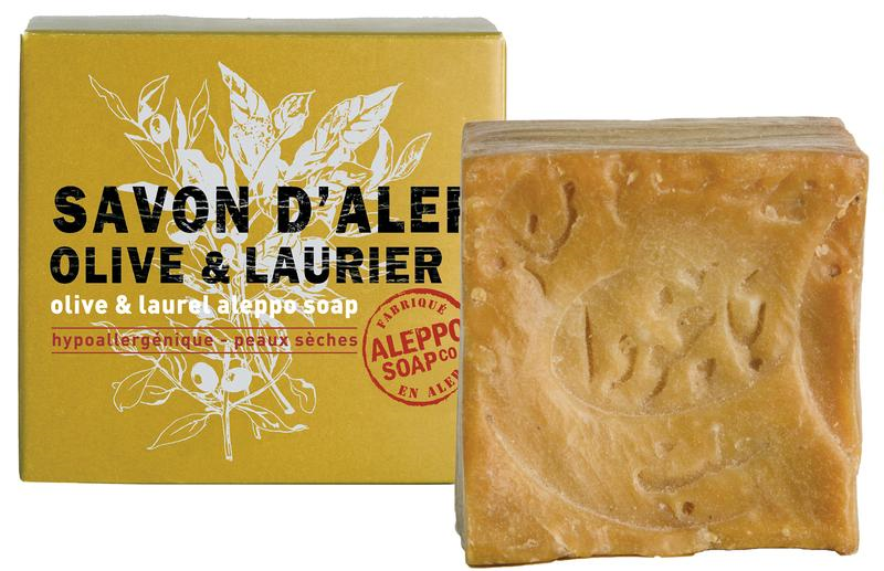 Image of Aleppo Soap Co Savon D'Alep Zeep Olive & Laurier