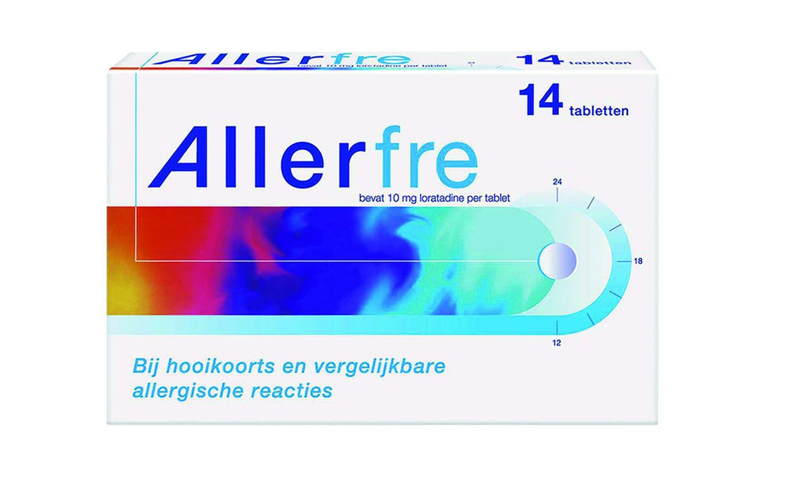 Image of Allerfre Tabletten 10mg 14st