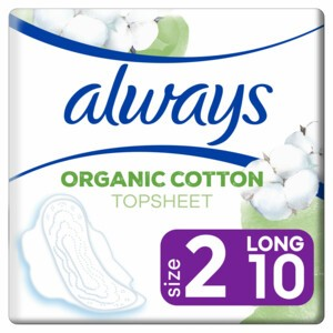 Image of Always Cotton Protection Ultra Long Maandverband