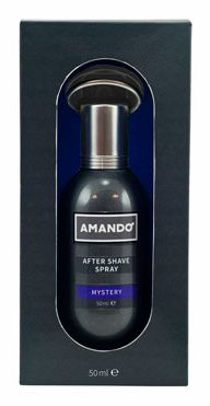 Amando Mystery for Men - 50 ml - Aftershave spray