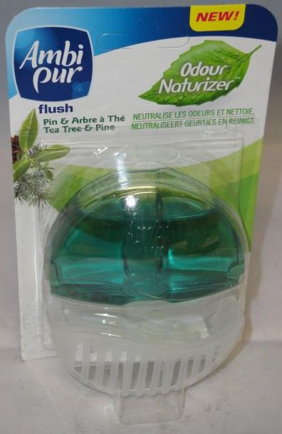 Ambi Pur Toiletblok Tea Tree & Pine - Startpakketkit 55ml