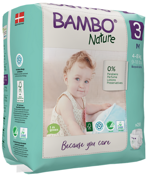 Image of Bambo Nature Luiers Maat 3 M