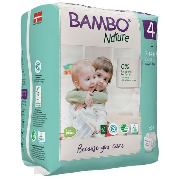 Image of Bambo Nature Luiers Maat 4 L