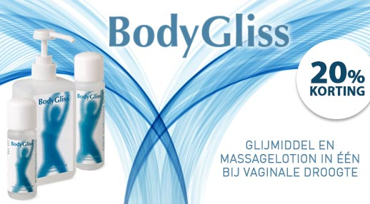 Bodygliss White Line 20% korting