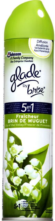 Glade By Brise Aerosol Lily Of The Valley 300ml