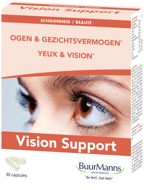 Afbeelding van Buurmanns Vision Support Capsules Trio 3x30st