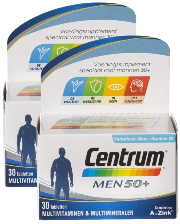 Afbeelding van Centrum Men 50+ Tabletten Duo