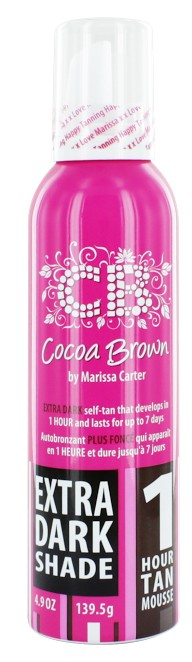Afbeelding van Cocoa Brown 1 Hour Tan Mousse Extra Dark