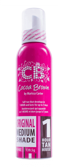 Afbeelding van Cocoa Brown 1 Hour Tan Mousse Original Medium