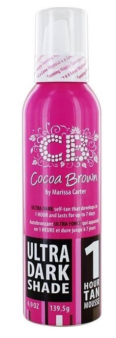 Afbeelding van Cocoa Brown 1 Hour Tan Mousse Ultra Dark