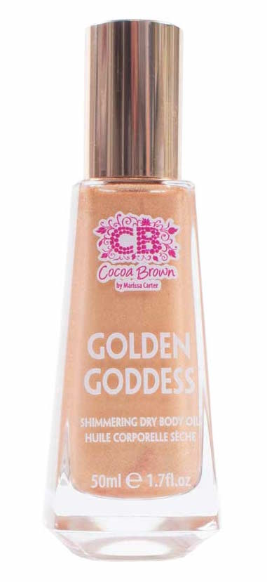Afbeelding van Cocoa Brown Golden Goddess Shimmer Oil