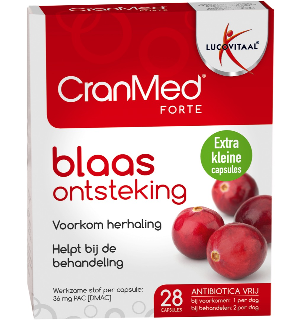 Cranmed Forte - 28 Capsules - Voedingssupplement