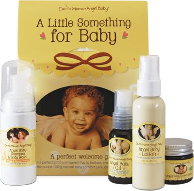Earth Mama Angel Baby A Little Something - Geschenkset