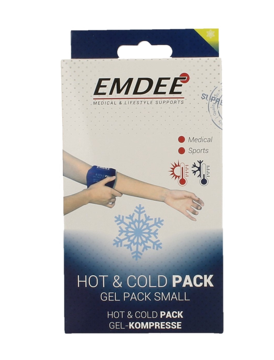 Image of Emdee Hot Cold Gel Pack Small