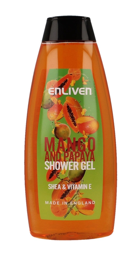 Afbeelding van Enliven Douchegel Mango Papaya