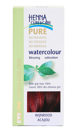 Evi-Line Henna Cure & Care Watercolour Wijnrood