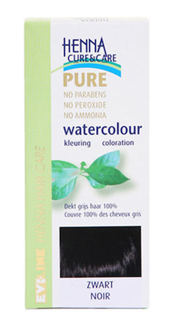 Henna Cure Watercolour Zwart