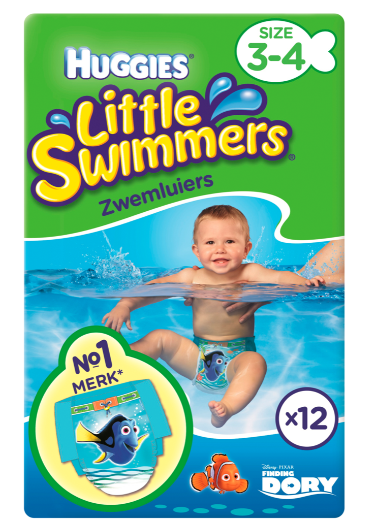 Image of Huggies Little Swimmers Small 12st