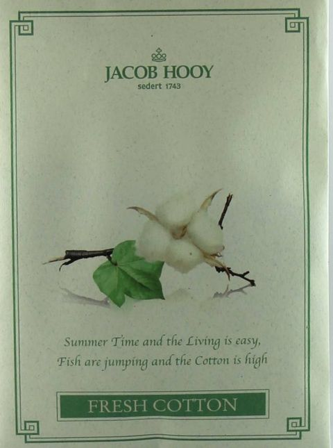 Jacob Hooy Fresh Cotton Geurzakje Verp