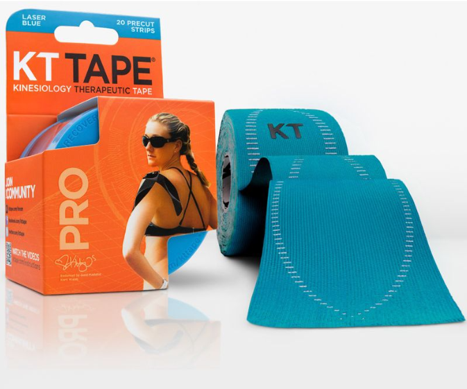 Image of KT Tape Pro Strips Lichtblauw