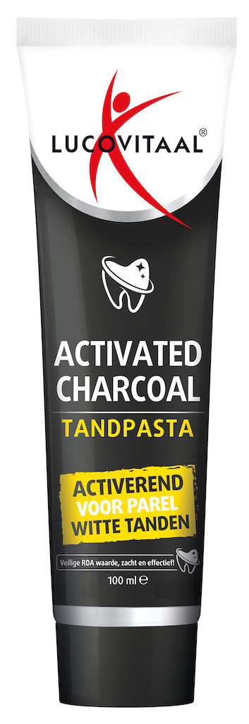 Image of Lucovitaal Activated Charcoal Tandpasta