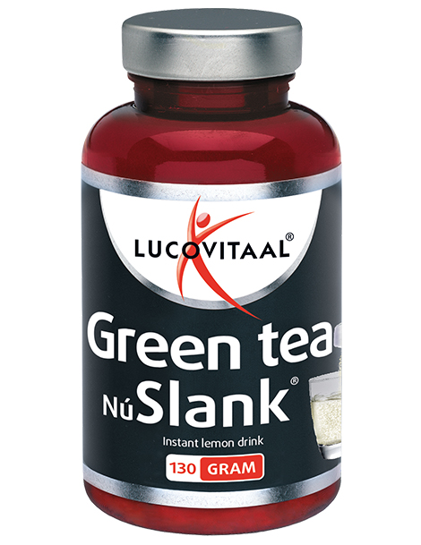 Lucovitaal NuSlank Green Tea Lemon Drink Powder