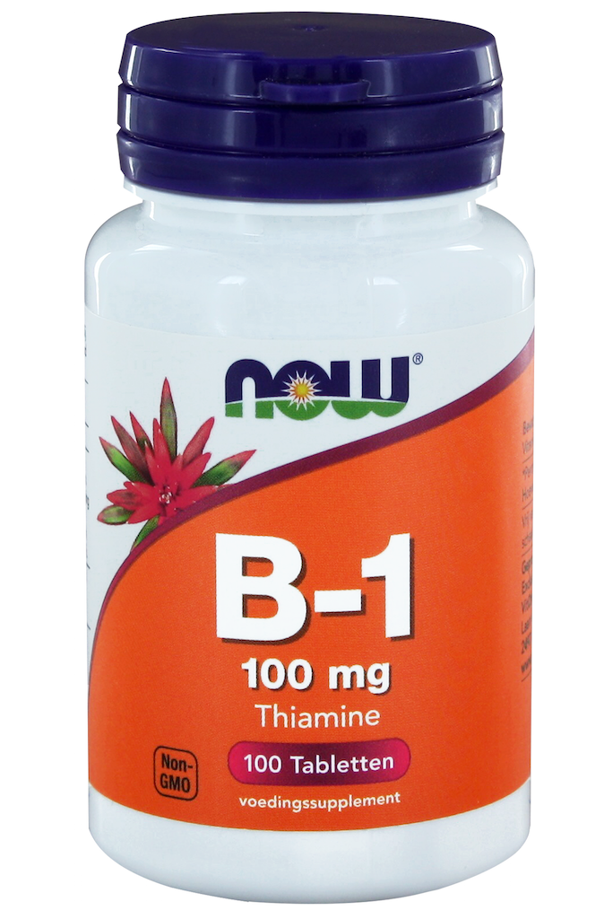 VitOrtho Now B-1 100 mg tabletten 100 st