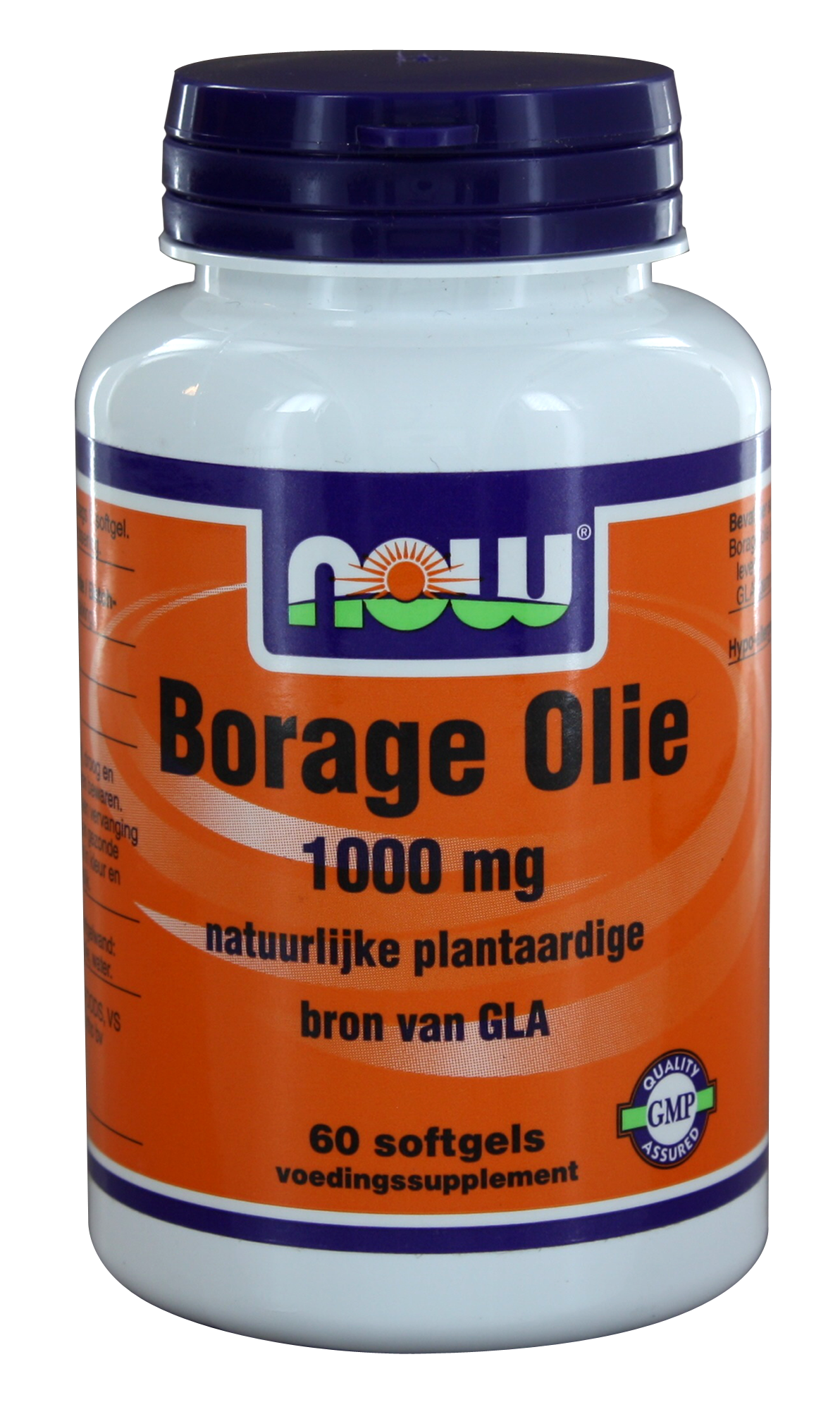 VitOrtho Now Borage Olie 1000 mg tabletten 60 st