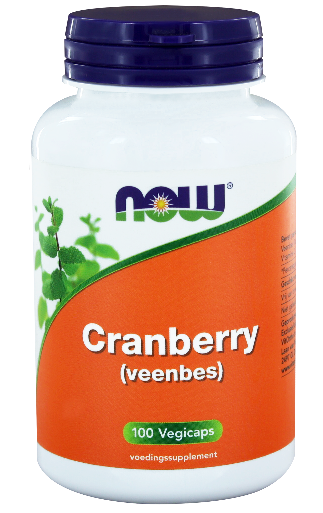 Now Cranberry Concentraat Capsules 100 st