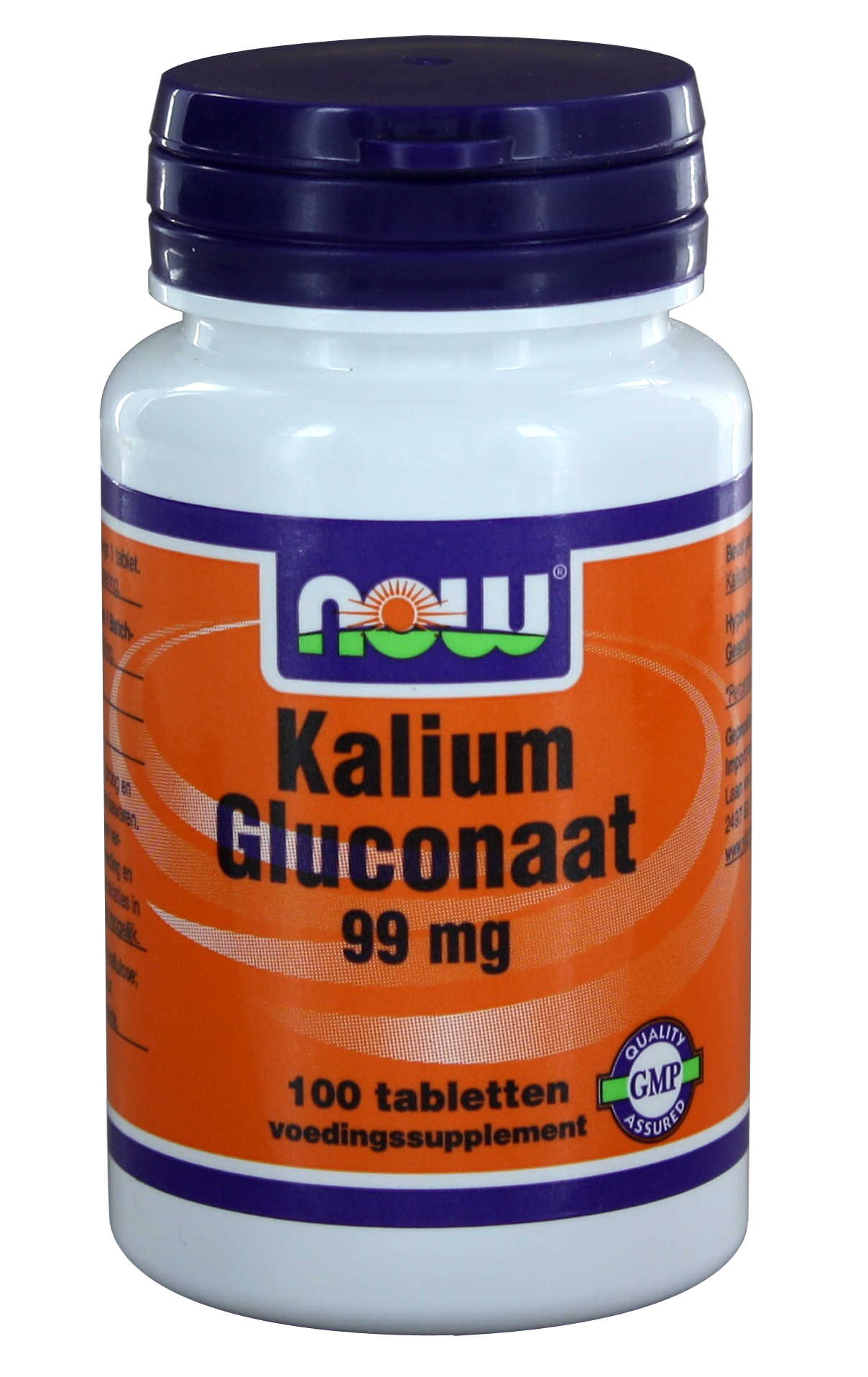 Now Potassium Gluconate 99mg