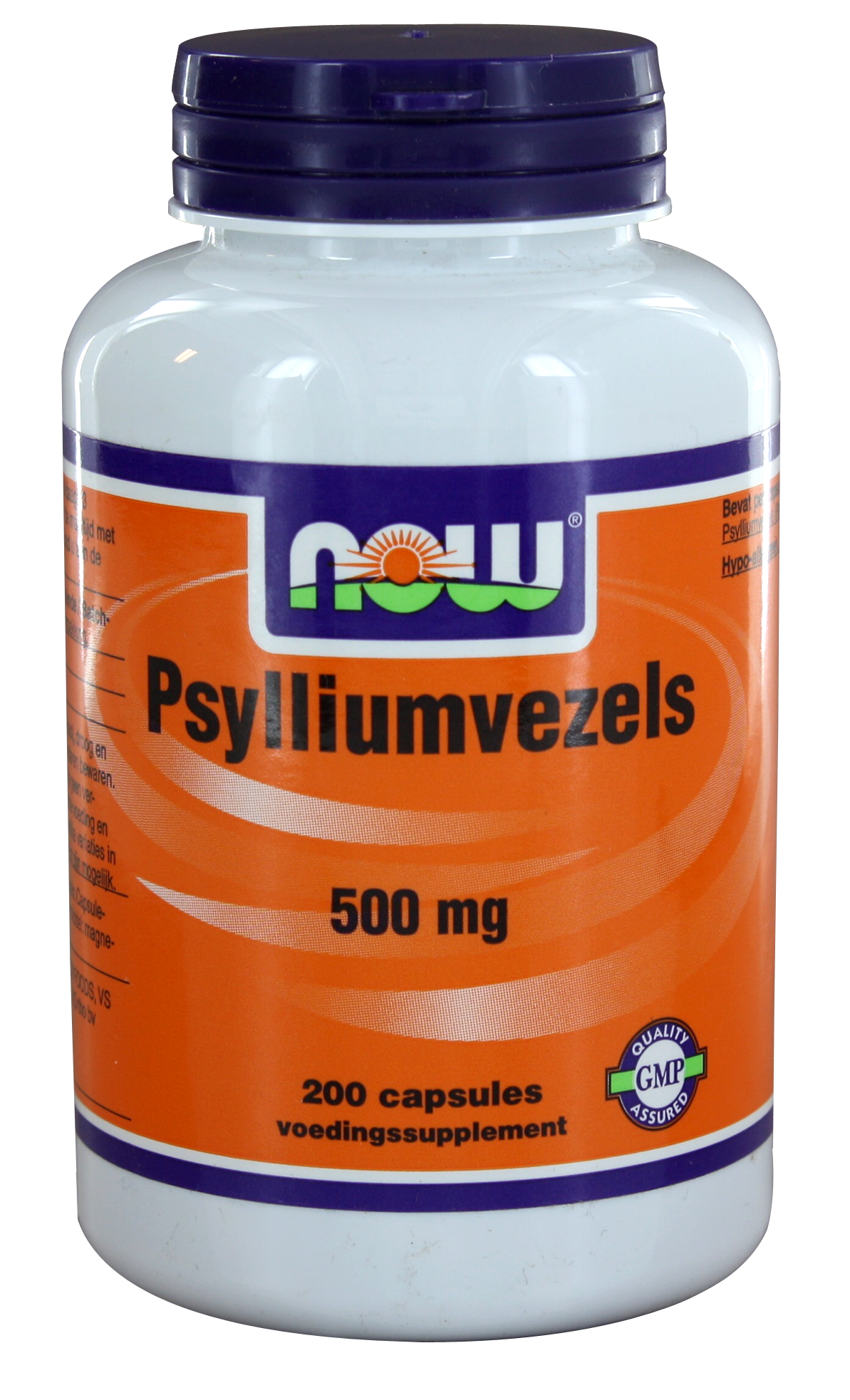 Now Psyllium Husk Capa 500mg