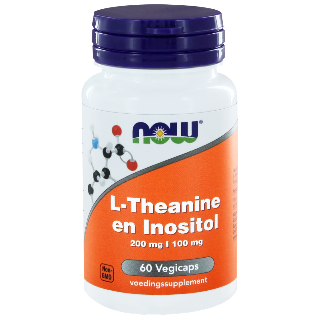 Now L-Theanine En Inositol Capsules 60st