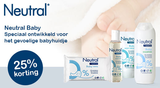 Neutral baby 25% korting