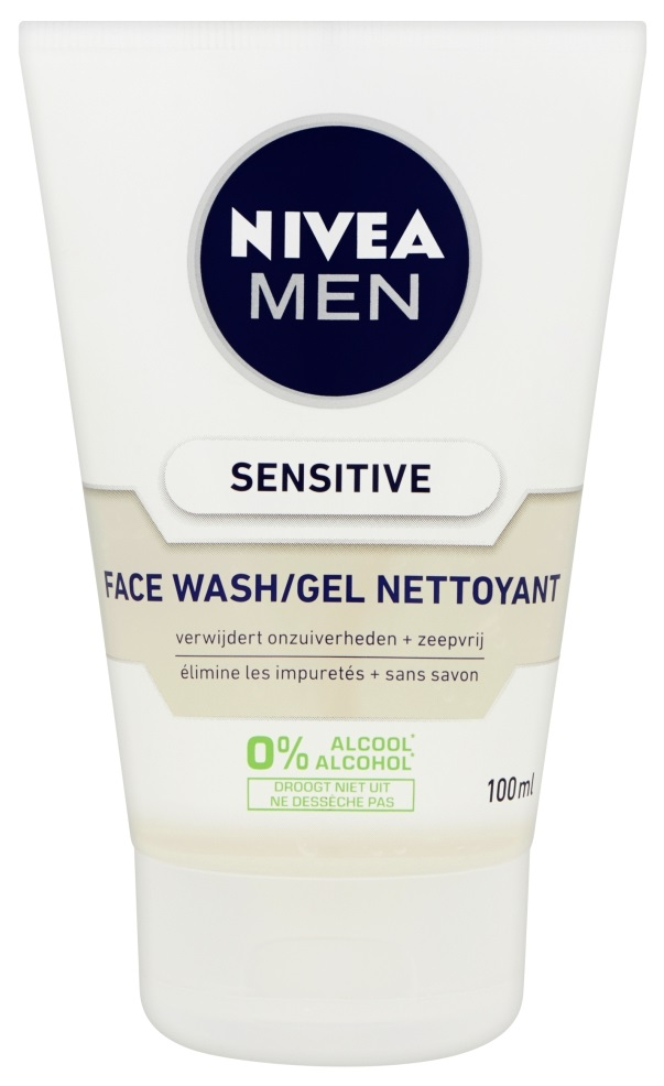 NIVEA MEN Sensitive Face Wash