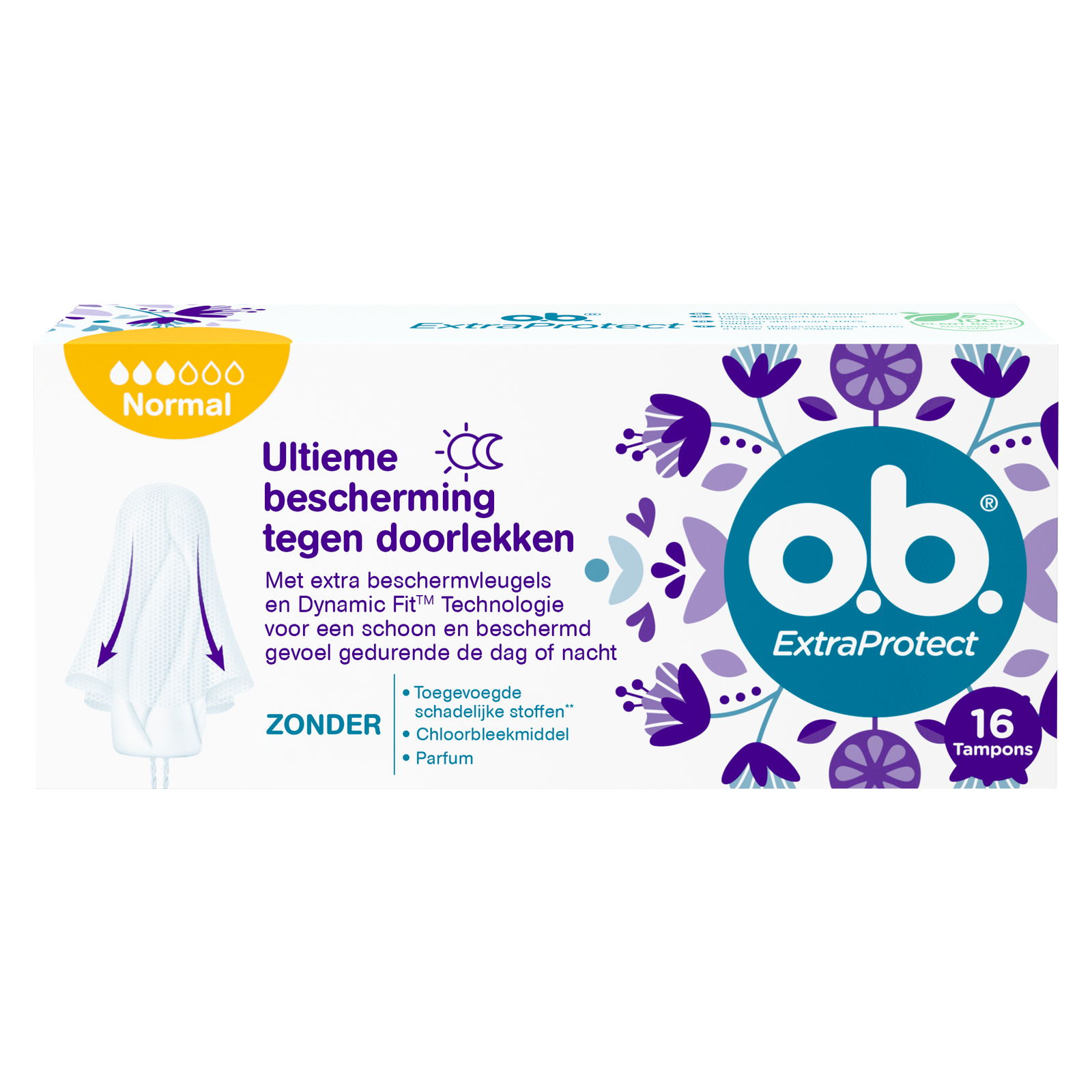 Image of OB ExtraProtect Tampons Normal