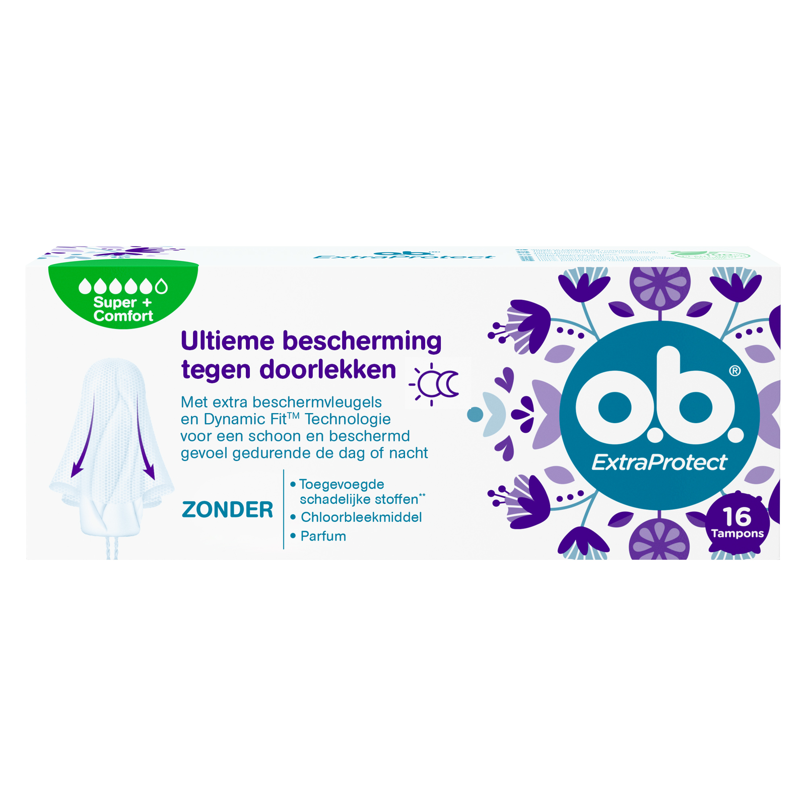 Image of OB Extra Protect Tampons Super + Comfort
