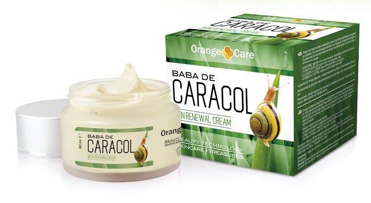 Orange Care Baba de Caracol Slakkencrème - 50 ml - Bodycrème