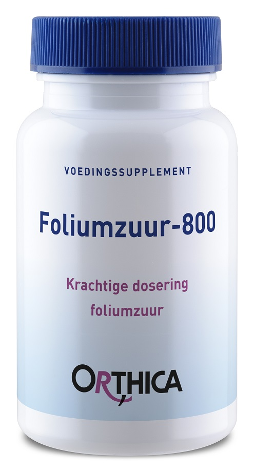 Orthica Foliumzuur 800 Tabletten