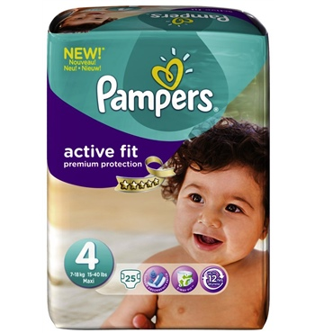 Pampers Active Fit Maxi 4 25st