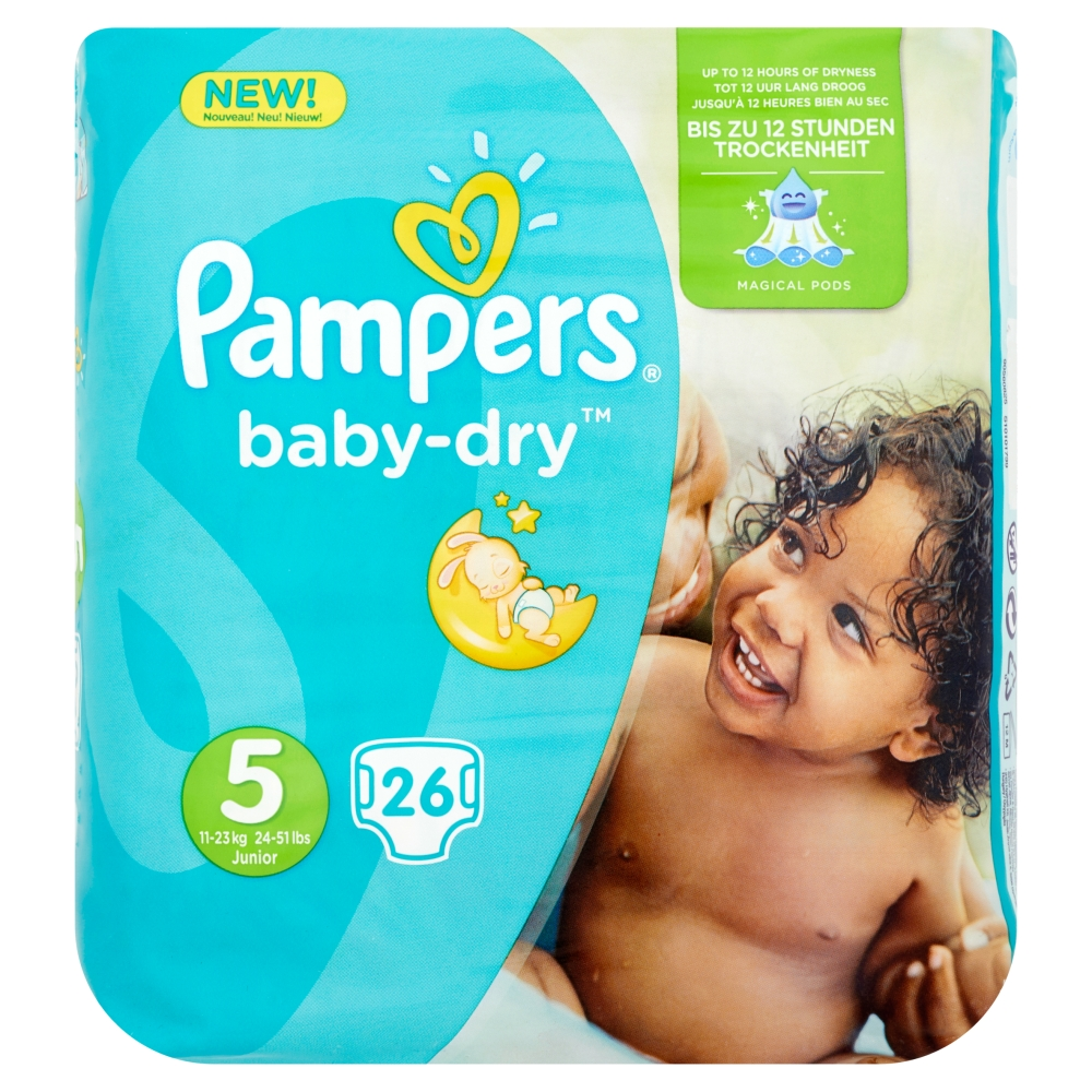 Pampers Baby Dry Junior 5 26st