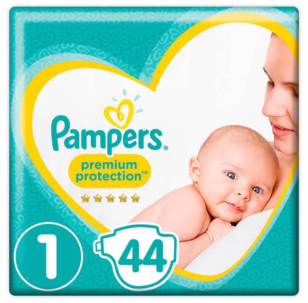 Image of Pampers Premium Protection 1