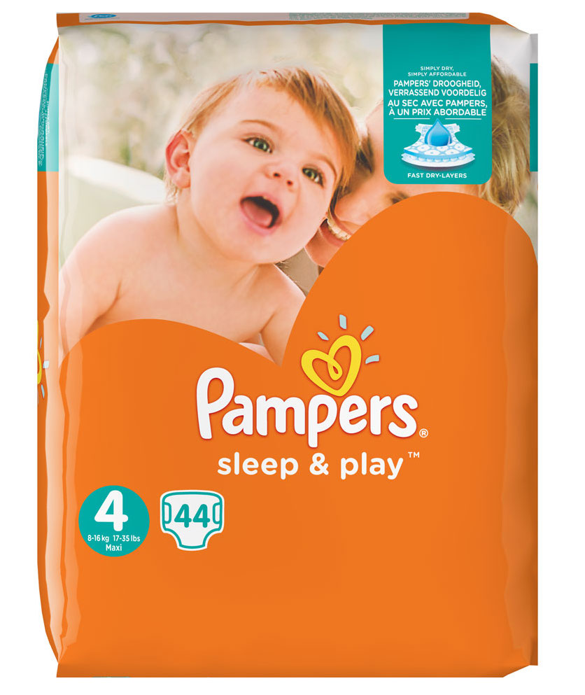 Pampers Sleep & Play Maxi 4 44st