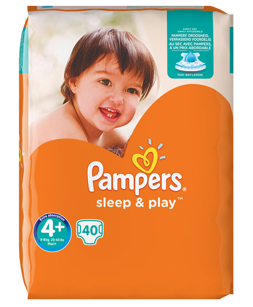 Pampers Sleep & Play Maxi Plus 4+ 40st