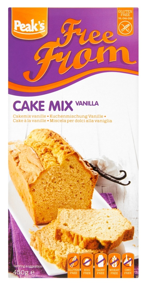 Image of Peaks Free From Cakemix Vanille