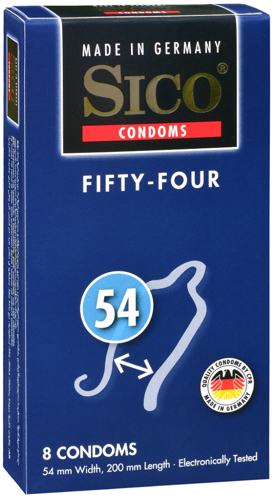 Image of Sico 54 (Fifty-Four) Condooms