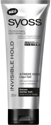 SYOSS Styling Invisible Hold - 250 ml - Gel
