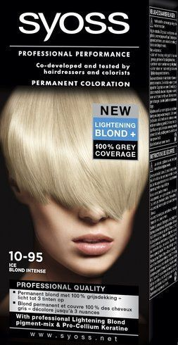 SYOSS Color baseline 10-95 Ice Blond Intense - Haarkleuring