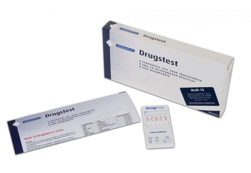 Testjezelf Drug Multi Urine 10