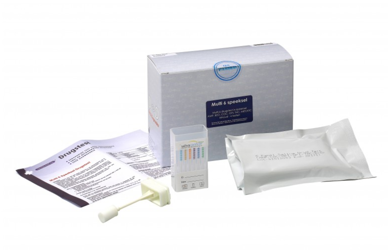 Multidrugstest 6 Speeksel Kit