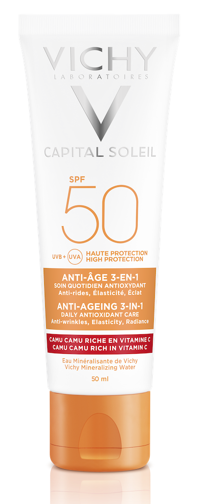 Image of Vichy Capital Soleil Anti-Age 3-in-1 Zonnebrand SPF50